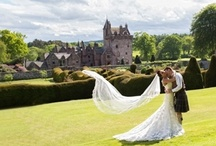 Guthrie Castle Wedding Venue / Guthrie Castle, a fairytale 15th Century privately owned estate. This romantic venue is especially perfect for weddings or private celebrations.  View more details at www.tyingtheknot.org