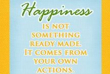 Happiness Inspiration / Your place for inspiring and thought provoking ideas.