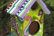 """For the Birds........ / I Love birds, and fun, colourful """"Birdy"""" crafts..."""