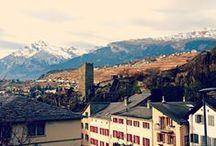 Sierre e dintorni, Svizzera [2] / Novembre 2012