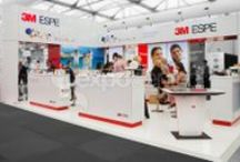 Black / White / Sleek looking B&W exhibition stands by Expocentric