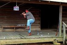 redneck party...