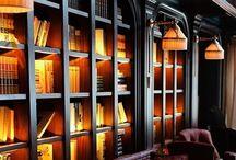 bibliothèques- étagères