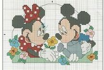 Cross stitch - Disney