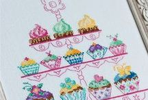Cross stitch - Bake