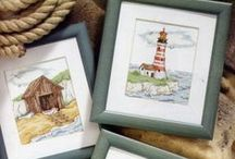 Cross stitch - Sea