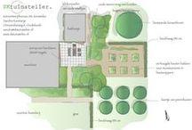 SK tuinatelier tuinontwerpen / Tuinontwerpen in Zeeland, Goes, Middelburg. Landelijke tuinen, stadstuinen, kleine tuinen en grote tuinen.