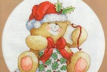 Cross stitch - Bear