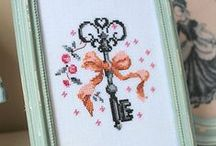 Cross stitch - Vintage