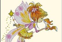 Cross stitch - Fairy