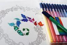 Johanna Basford coloring books