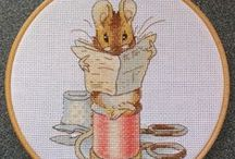 Cross stitch - Peter Rabbit