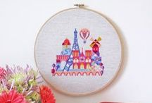 Cross stitch - Cities
