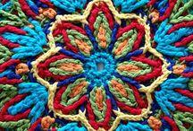 Mandalas en crochet