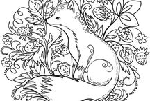 """•Printable Colouring Pages• / I have figured out how to print the pictures that aren't free/printable. (For iPhone users) If the link is dead, copy the link, or visit the images' website. Find your picture. Save the image to your photos. Now if you print from here, it will be resized to a 4*6 image and it will cut off the edges. So resave this image to """"pdf for iBooks"""". From there just hit print, and viola, perfect colouring picture ;) Happy colouring!"""
