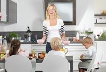 Für die ganze Familie / Offener Wohnraum, robuste Lösungen und viel Platz für die lebhafte Familie. Hier tobt das Leben.