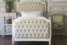 bedroom inspiration. / inspiration for a new twist on our master bedroom.