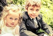 Young Bridesmaids ang Groomsmen / Children on The Wedding
