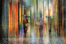 Inspiration / Les contre-jours, les jeux de lumière, les reflets, les aquarelles esquissées, vaporeuses, les photos qui racontent une histoire...
