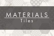 MATERIALS | Tiles / All kinds of tile  #inCollective www.incollective.co  Your personal interior designer