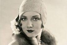 retro fashion / 20s 30s 40s