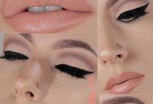 Make up for brunettes