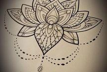 Lotus and mandala tattoos! / I'm gonna get one tattooed