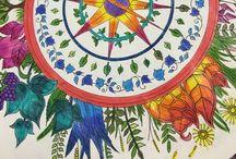 Desenhos / Jardim Secreto e Floresta Encantada