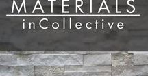 MATERIALS | inCollective / Materials Collection    #inCollective www.incollective.co Your personal interior designer