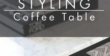 STYLING | Coffee Table