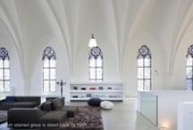 SAINT JAKOBUS CHURCH, IGLESIA CONVERTIDA EN CASA CON ESTILO. -.ARCHITECTURE.- / by Thecubedesign
