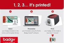 Badgy Printer Tips / Tips for setting up, using, and cleaning your Badgy card printer - an affordable, all-in-one solution for organizations printing < 200 cards per year.
