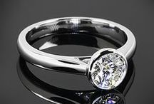 The Engagement & Wedding Ring