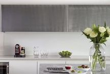 Roundhouse metallics / Roundhouse kitchens metallic finishes