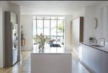 Roundhouse kitchens - white / White bespoke kitchens by Roundhouse