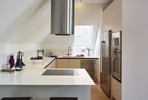 Roundhouse compact kitchens / Roundhouse bespoke kitchens in compact spaces