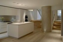 Roundhouse basement kitchens  / Roundhouse bespoke kitchens in a basement location