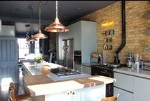 Roundhouse Urban/Industrial style kitchens / Roundhouse bespoke kitchens with an urban vibe