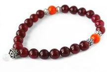 Buddhist mala's with natural stones / Bracelets with soul