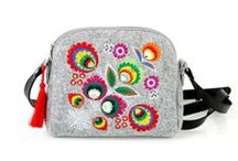 Farbotka handbags / With some interesting patterns - from ethno to gothic