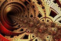 Fractals / Breathtaking fractals - singles & animated video renders.