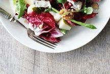 F O O D - H E A L T H Y / Healthy / Detox Salades / tartines  Eaux Detox / fruits