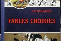 Fables choisies de la Fontaine Livre ancien 1930 / Fables de la Fontaine