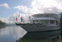 Inaugurations / Et voici nos tout nouveaux bateaux : le MS Camargue, le MS Loire Princesse et le MS Gil Eanes ! Lequel préférez-vous ? - Here are our three new ships: the MS Camargue, the MS Loire Princesse and the MS Gil Eanes! Which one do you prefer?