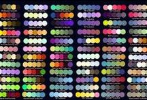 Color Theory & Logic / Color palettes, color theory, logic & tips for art design.