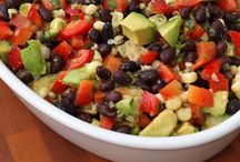Mexican Mondays / Big family Mexican dinners Minus the cheese for me, these are great and there are lots of healthy twists on many traditional Mexican  recipes out there.
