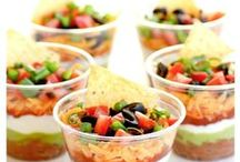 Snacks and Appetizers / The best snacks and appetizers to make for a party, potluck, or other event.