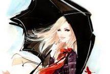 Cool Art-Umbrellas & Parasols / by Gayla Walker