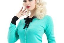 Retro Style Cardigans / The Atomic Boutique's choices for retro and rockabilly style cardigan sweaters.