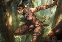 Fantasy Art and Illustrations